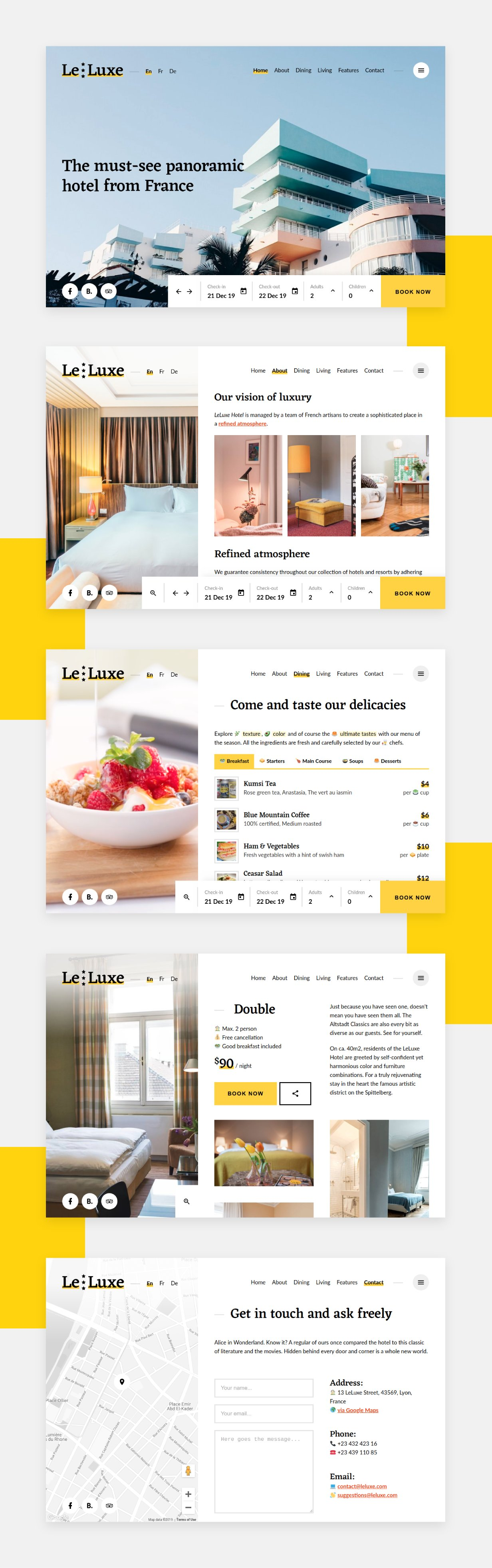 LeLuxe Hotel Theme leluxe - hotel wordpress theme nulled free download LeLuxe – Hotel WordPress Theme Nulled Free Download leluxe theme description