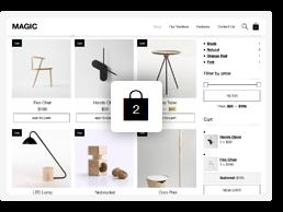 Download Magic – A Creative Portfolio & Ecommerce WordPress Theme nulled magic theme feature4