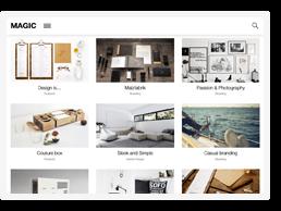 Download Magic – A Creative Portfolio & Ecommerce WordPress Theme nulled magic theme feature6